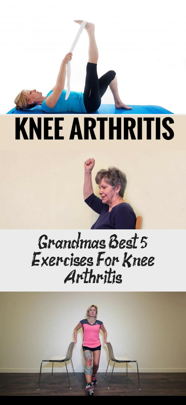 Grandma's Best 5 Exercises For Knee Arthritis #knee #arthritis #exercises #fitness #FoodandDrinkExer...