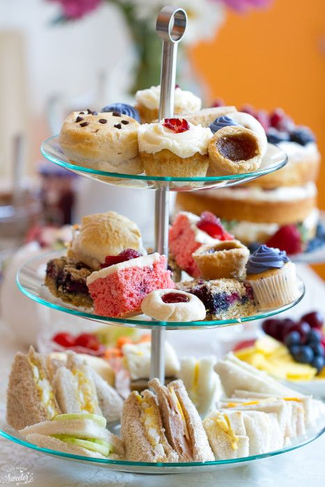 afternoon tea recept