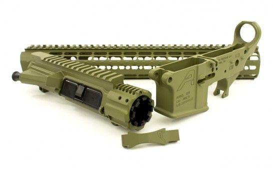 Aero Precision M4E1 Noveske Bazooka Green Builder Set