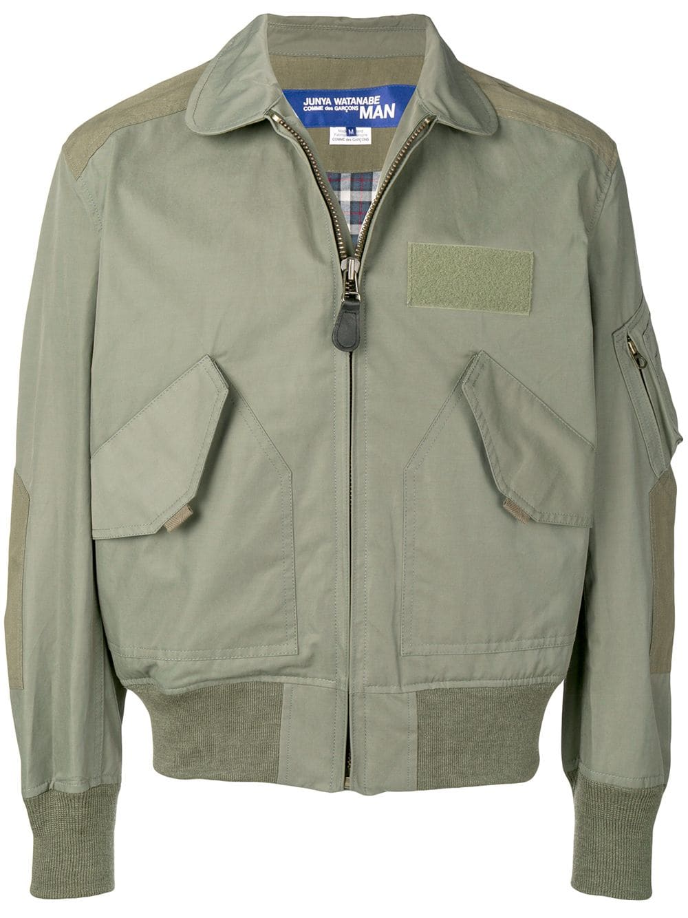 7b92b028c Junya Watanabe zipped bomber jacket - Green | Products in 2019 ...