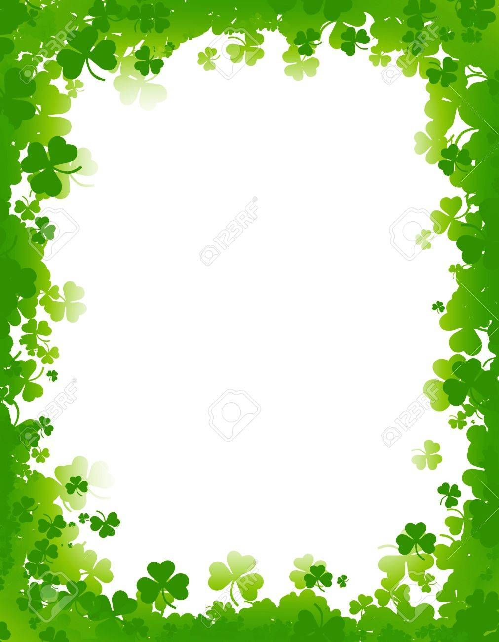 St Patricks Day Clipart Banners Borders Free Download St Patricks Day Clipart St Patricks Day Clover Green