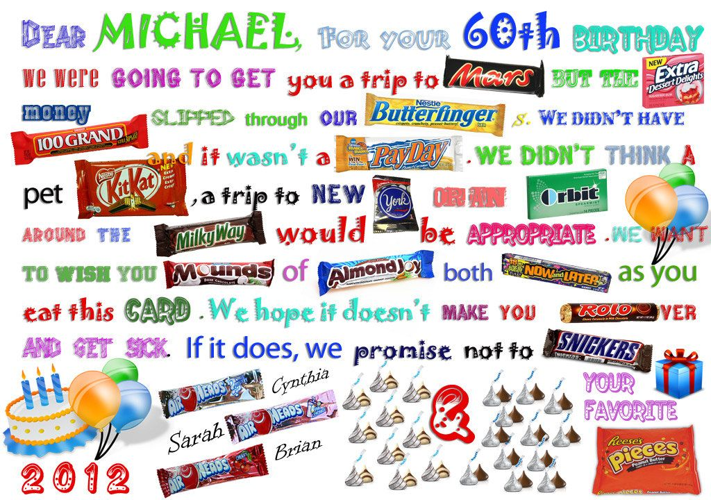 Birthday candy card made one for my husbands birthday and he was birthday candy card made one for my husbands birthday and he was so excited bookmarktalkfo Images