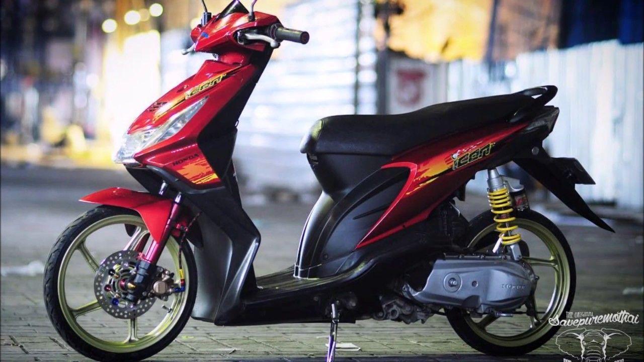 Modifikasi Motor Beat Karbu Babylook Di 2020 Motor Lowrider Honda