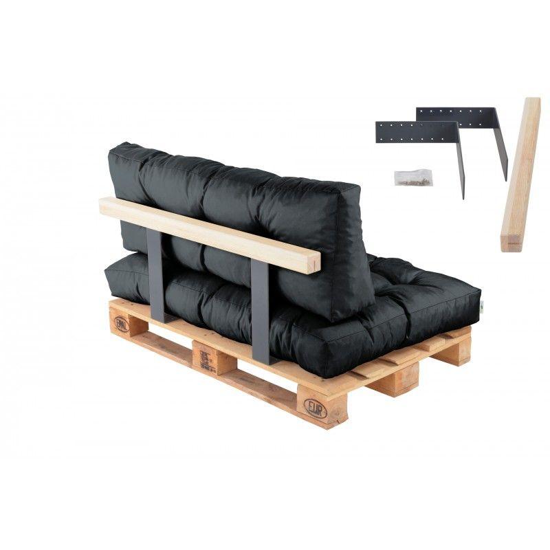 r ckenlehne f r palettenkissen 110 cm lehne palettenpolster kissen st tze palettenm bel. Black Bedroom Furniture Sets. Home Design Ideas