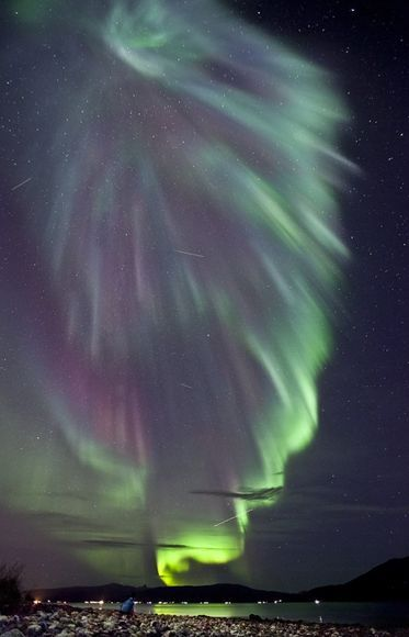 Aurora Borealis, Norway. Hoping to see the northern lights on our Tromso/Svalbard trip!