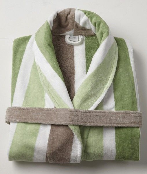 1c4bc2122f Luxury Mens Robe - Matthew Green - 100% Cotton - Baksana - Your choice of  Size - Bath Robe Bathrobe Dressing Gown