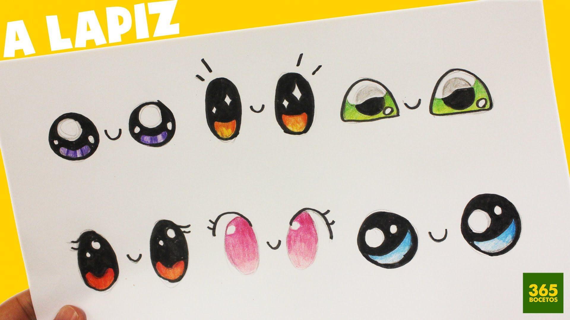 Como Dibujar Ojos Kawaii Paso A Paso Dibujos Kawaii Faciles How