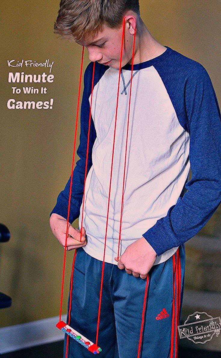 Photo of Awesome Minute To Win It Games that are Great for Kids, Teens and Adults – For Your Family Parties!