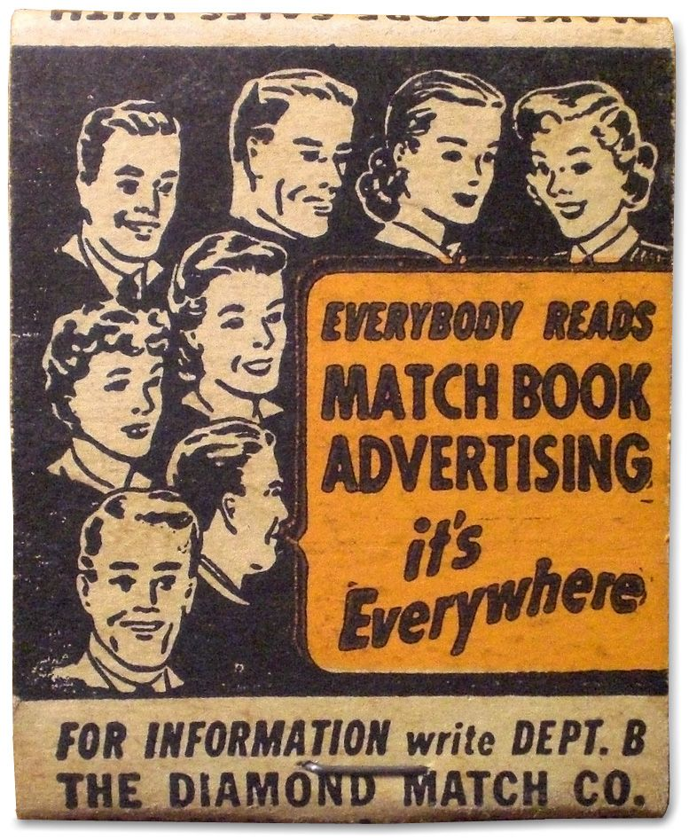 | Vintage Matchbooks | Close Cover Before Striking |