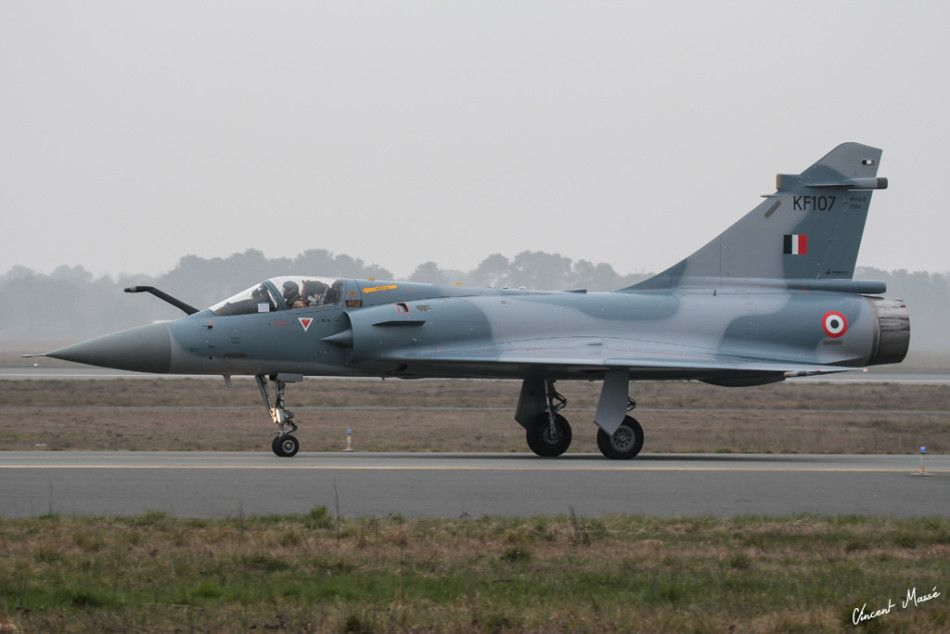 Newly Upgraded Indian Air Force Mirage 2000 Indian Fighter Planes Indian Air Force Dassault Aviation