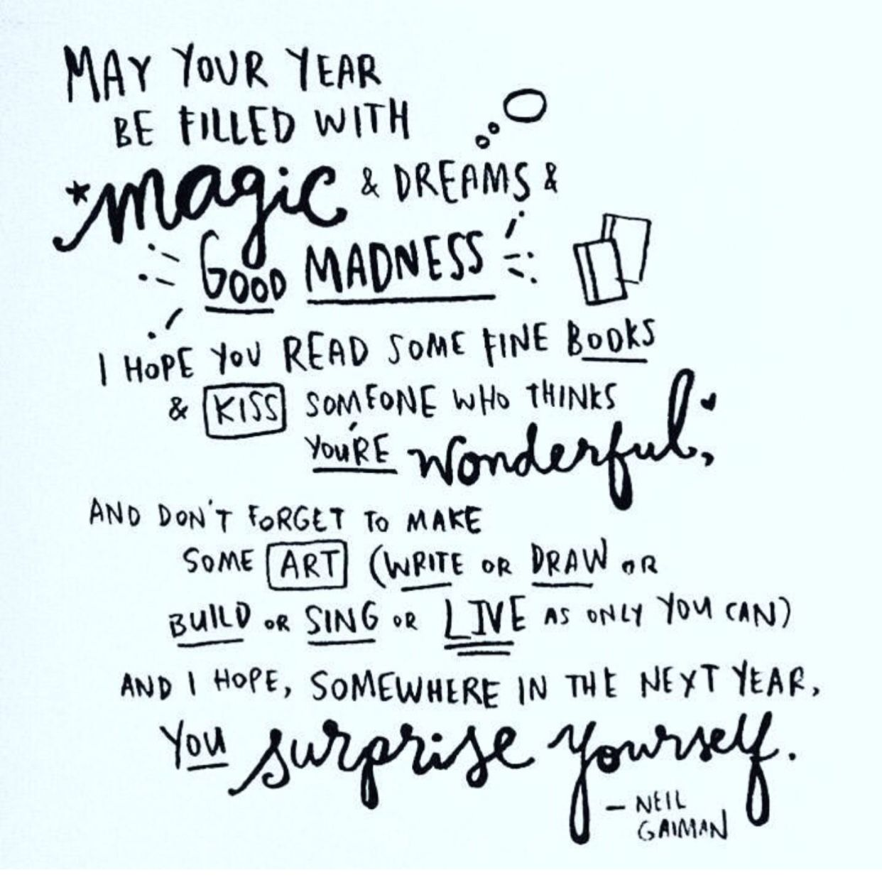Pin by Joanne Sperry on New Year's in 2019 Magic quotes