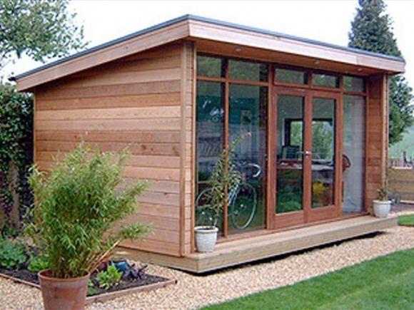 46+ Extension chalet de jardin ideas