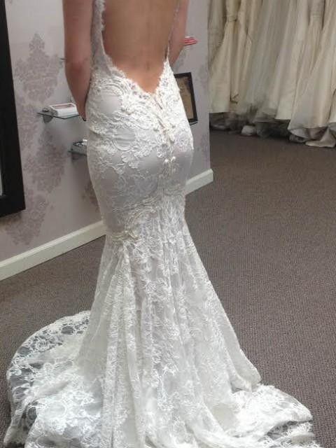 Berta Bridal 14 04 Size 6 Wedding Dress OnceWed Used