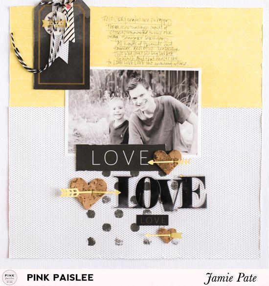 C'est La Vie Valentine Title | @jamiepate for @pinkpaislee