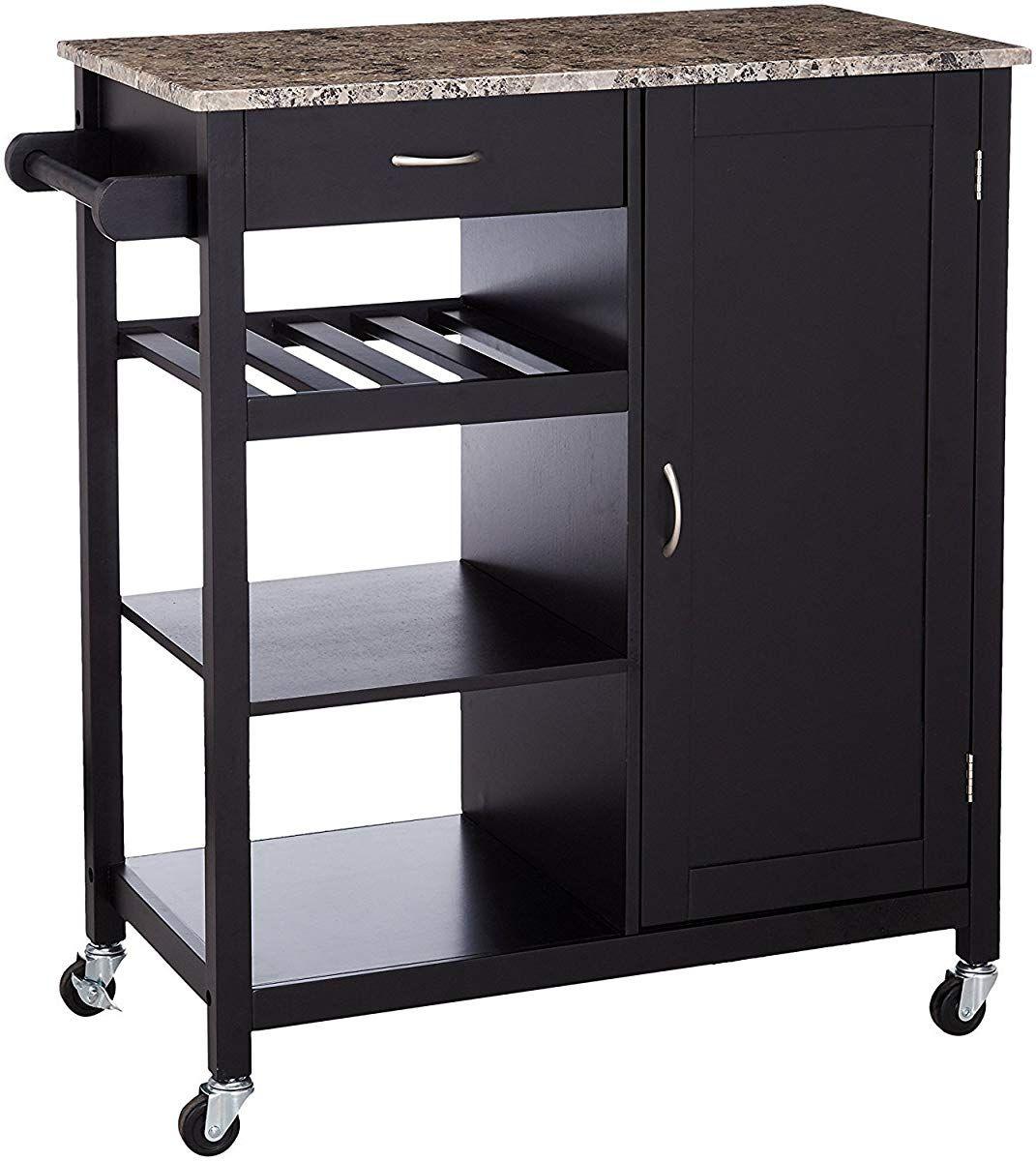 Marble Top Kitchen Storage Cabinet Cart Kitchen Cabinet Storage Wooden Kitchen Storage