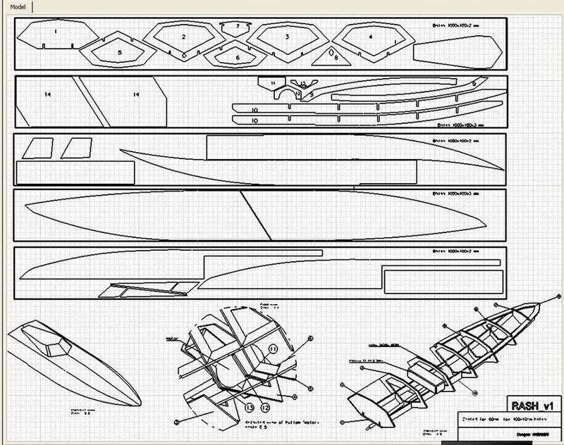 Resultado de imagen de Homemade Model Boats Free Plans