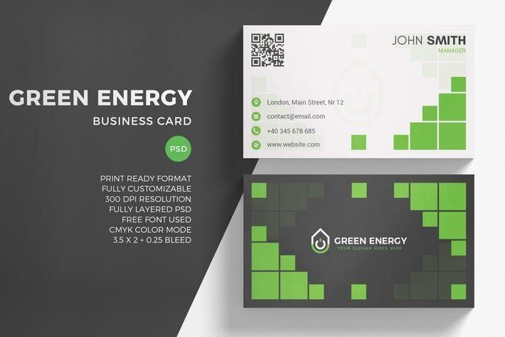 Green energy business card template abstract company download green energy business card template abstract company download here http reheart Choice Image