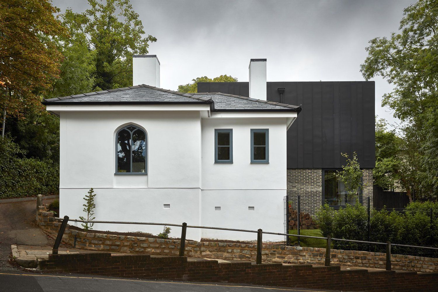 Mulroy architects muswell hill haringey grand designs house extension channel also rh pinterest
