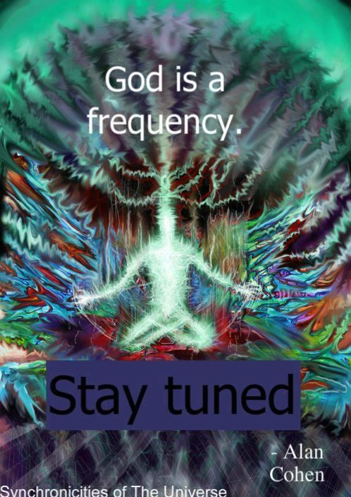 There will be times when the new energies seem to be coming at you ...