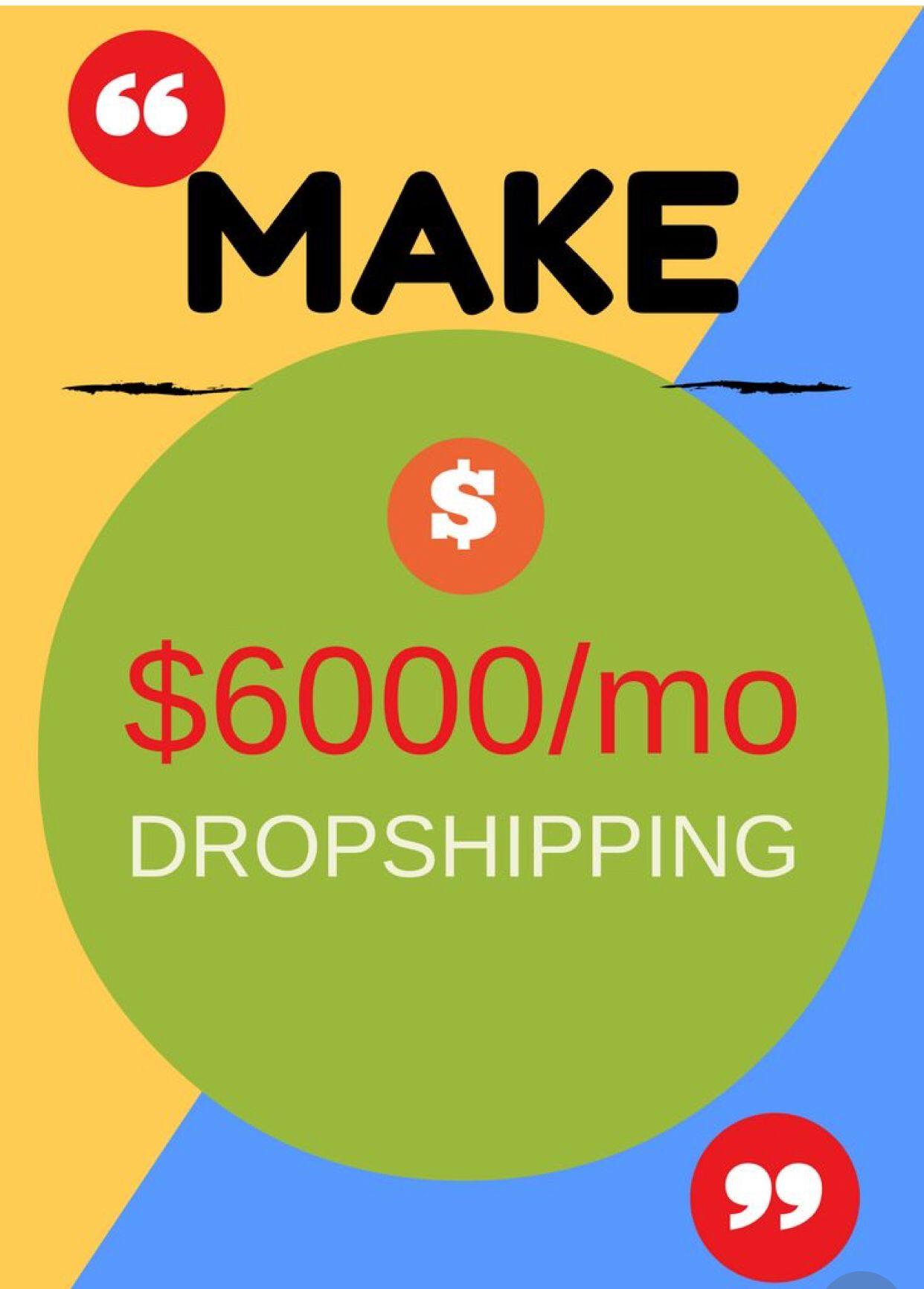 dropshipping money Dropshipping