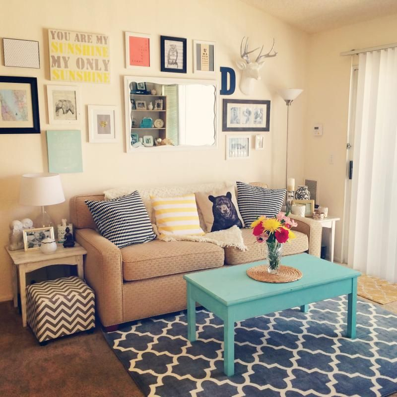 Apartment For Cheap: Small Apartment Decorating