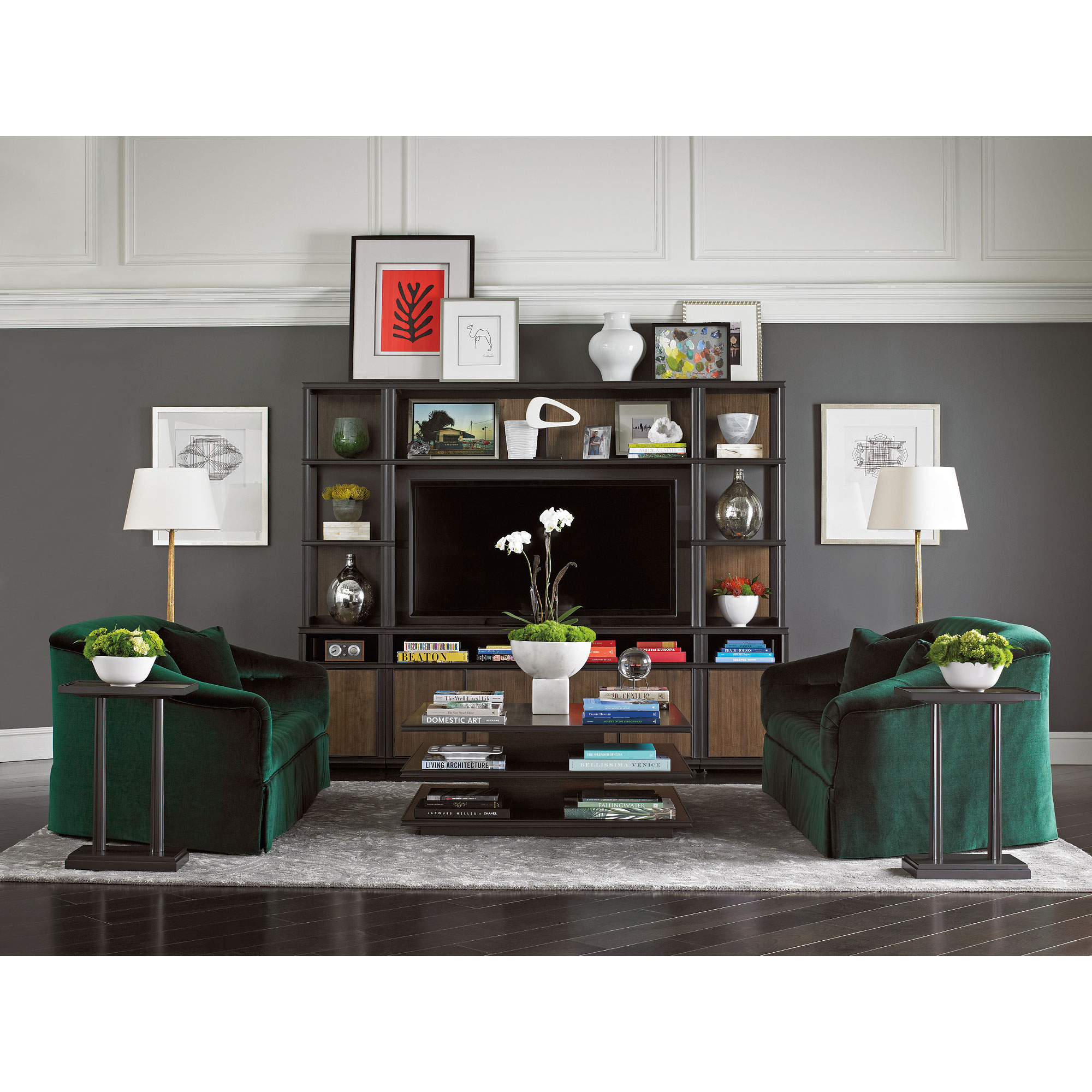 Montreux Entertainment Center Wall Stanley Home