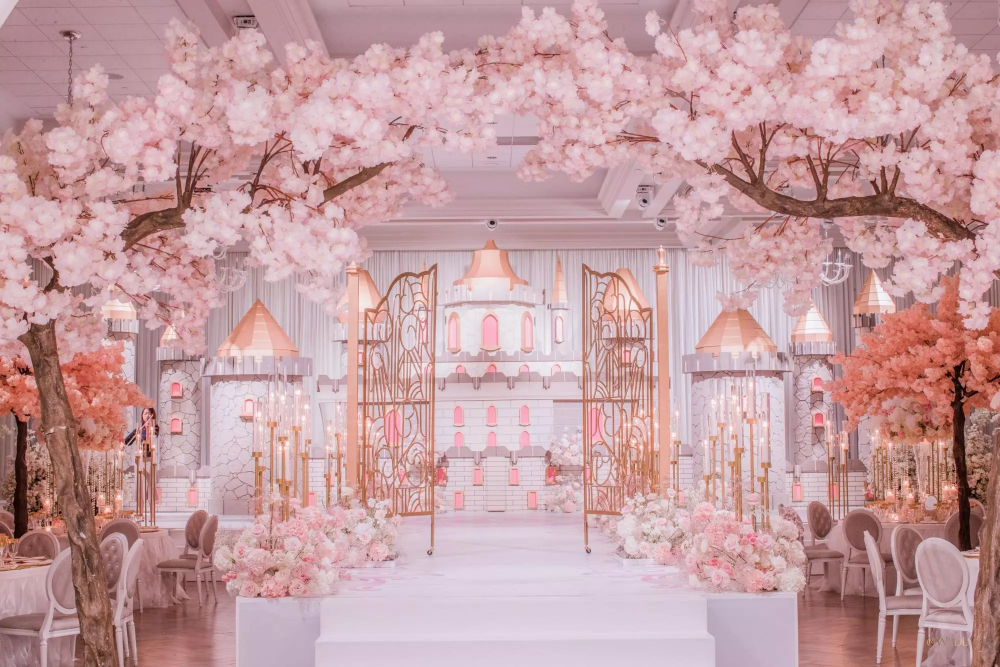 Cherry Blossom Tree Rental For Weddings Events Los Angeles Dreams In Detail Cherry Blossom Wedding Blossom Tree Wedding Cherry Blossom Wedding Theme