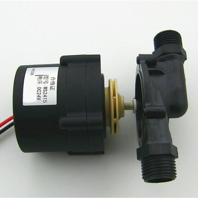 24v Dc Booster Pump Recycle Pump Brushless Circulating Pump Lift 15 M High Temperature Resistant For Electric Wa Electric Water Heater Water Heater Electricity