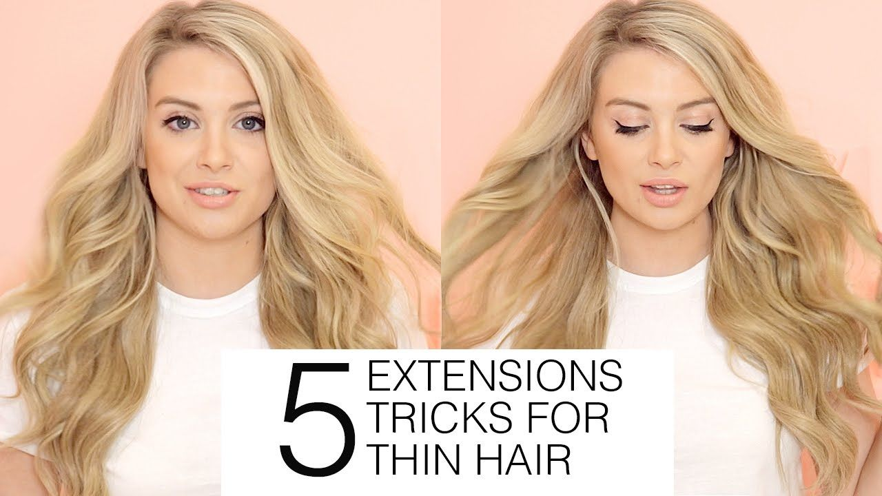 5 Must Know Hair Extensions Tricks For Fine And Thin Hair Milk