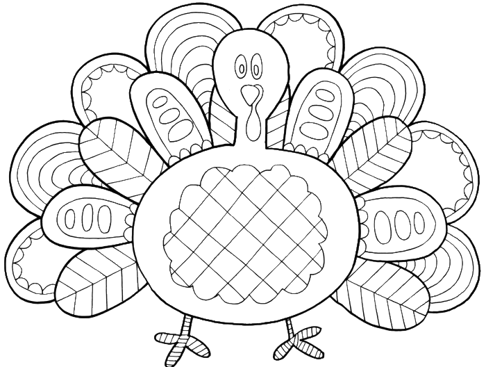 Turkey feathers with a very unique coloring pages thanksgiving coloring pages kidsdrawing free