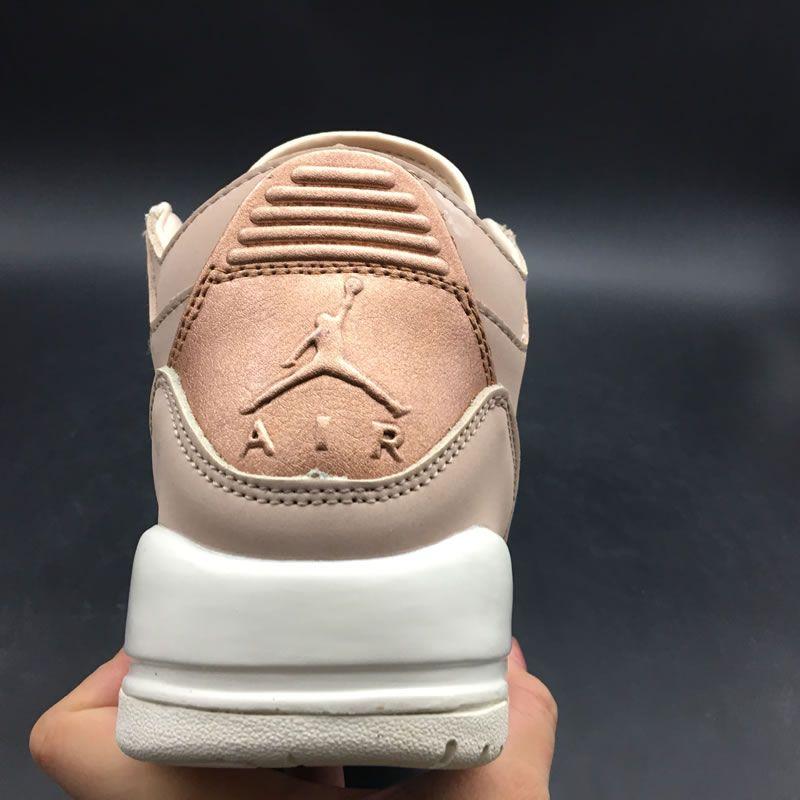 e35c96bbd13c3 Air Jordan 3 'Particle Beige' SE Rose Gold Womens GS Size AH7859-205 ...