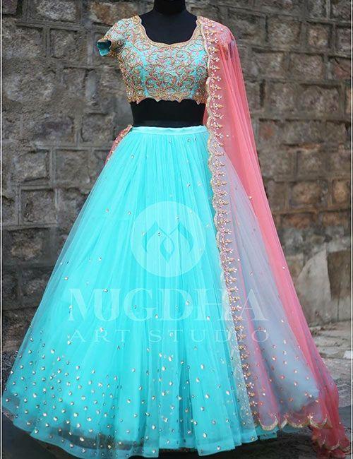 Top 15 Boutiques In Hyderabad Famous Clothing Designers Designer Bridal Lehenga Choli Half Saree Designs