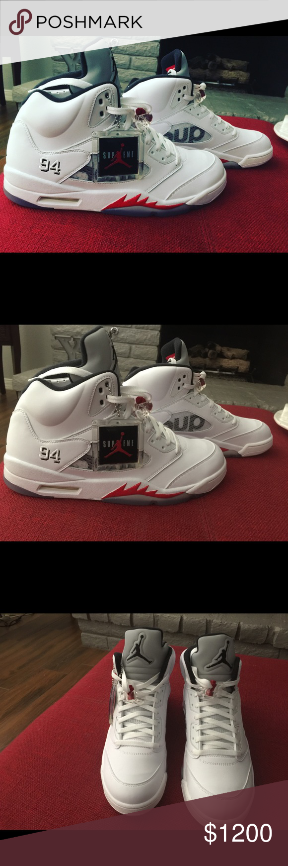 Jordan supreme retro 5s Brand new never worn dead stock Nike Shoes Sneakers