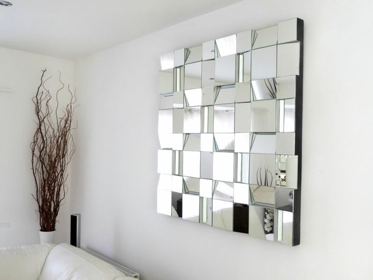 Espejos decorativos para sala y comedor espejos for Espejos rectangulares para sala