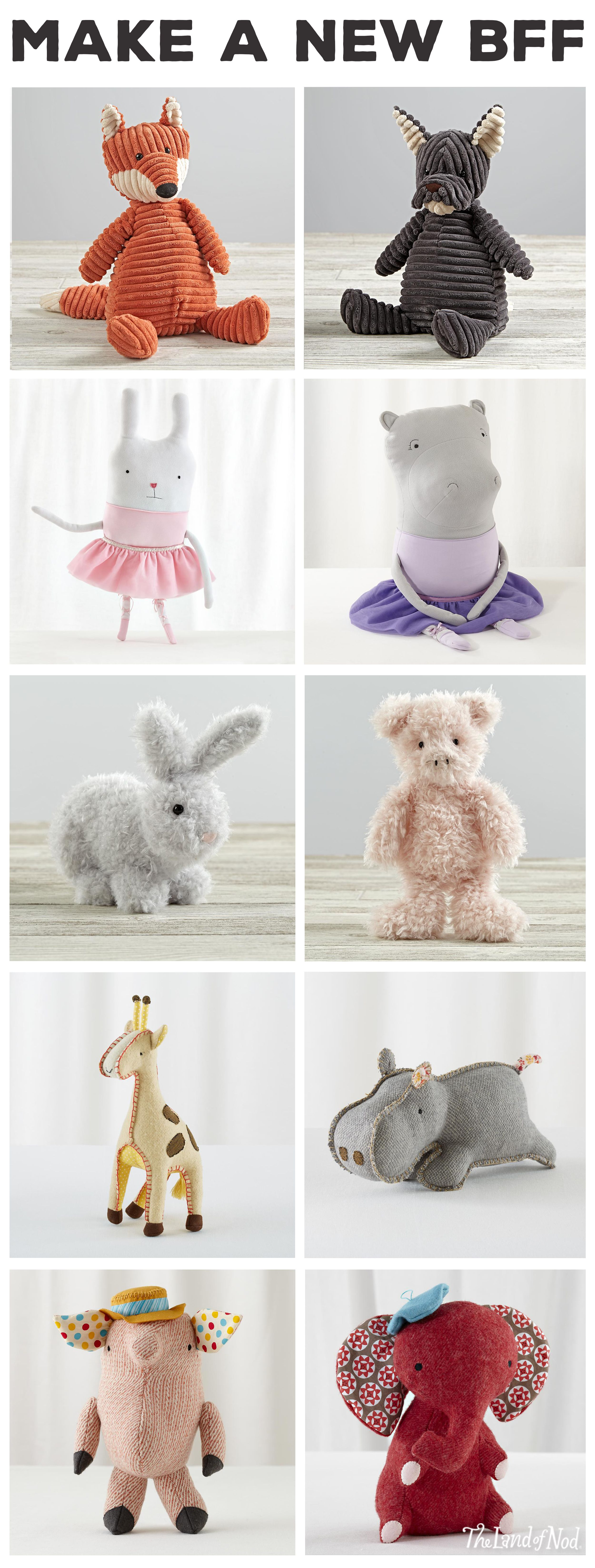 If your little ones are looking for the perfect sidekick, you're in luck. We've got tons of stuffed animals and dolls to keep them in good company. From doll furniture and unicorns to ride-ons and baby dolls, these classic toys make the perfect gifts for anyone on your list.