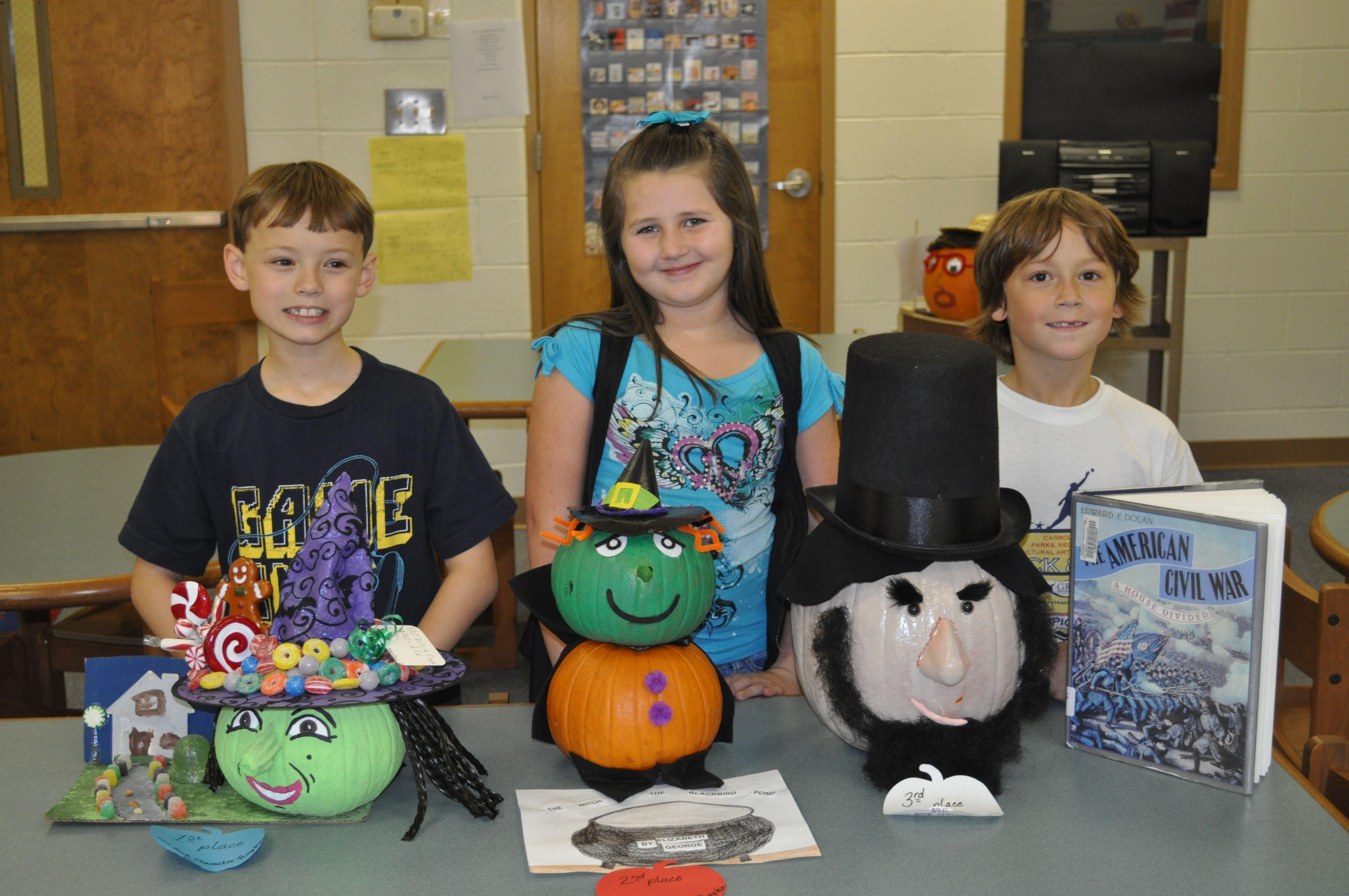 Centralhatchee Elementary Book Character Pumpkin Contest Character Pumpkins Book Character Pumpkins Pumpkin Books