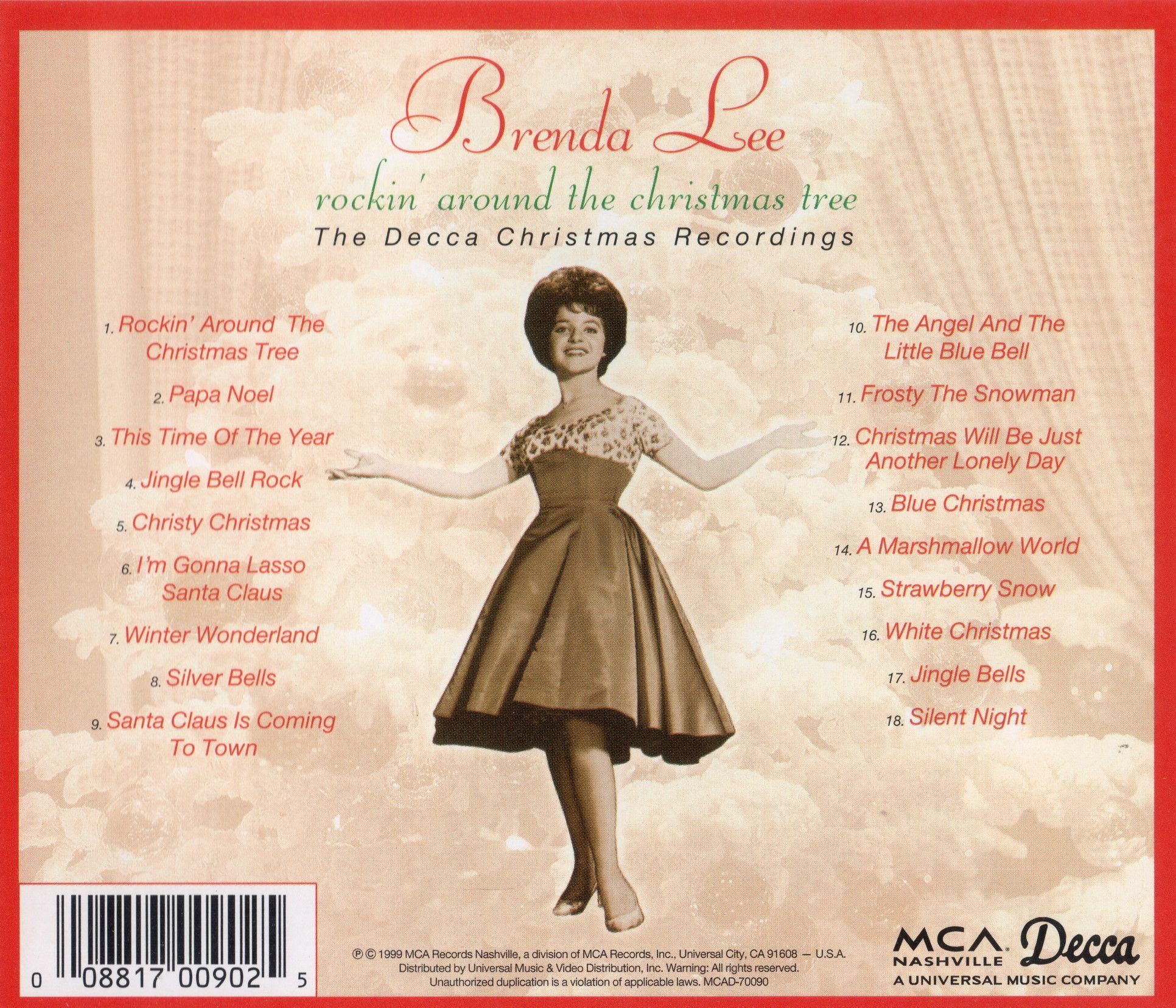 Rockin Around The Christmas Tree Brenda Lee.Brenda Lee Rockin Around The Christmas Tree The Decca