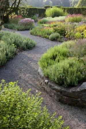 The Physic Garden In July At Dyffryn Gardens Vale Of Glamorgan Landscaping With Rocks Gravel Garden Garden Inspiration
