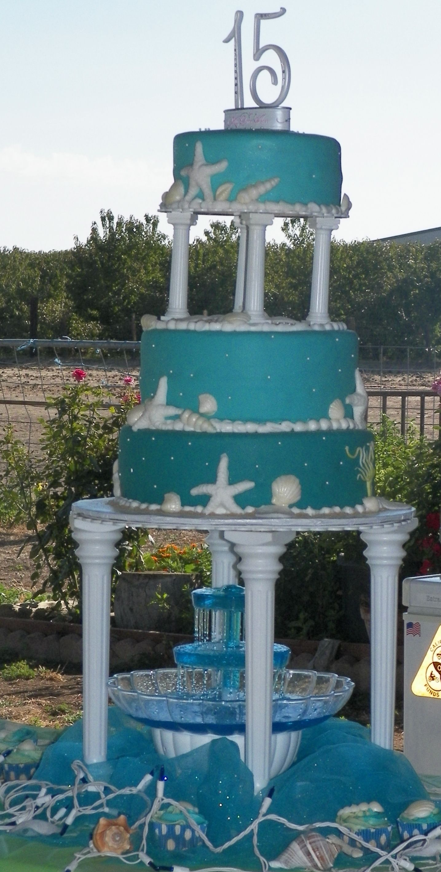Under The Sea Quince Cake