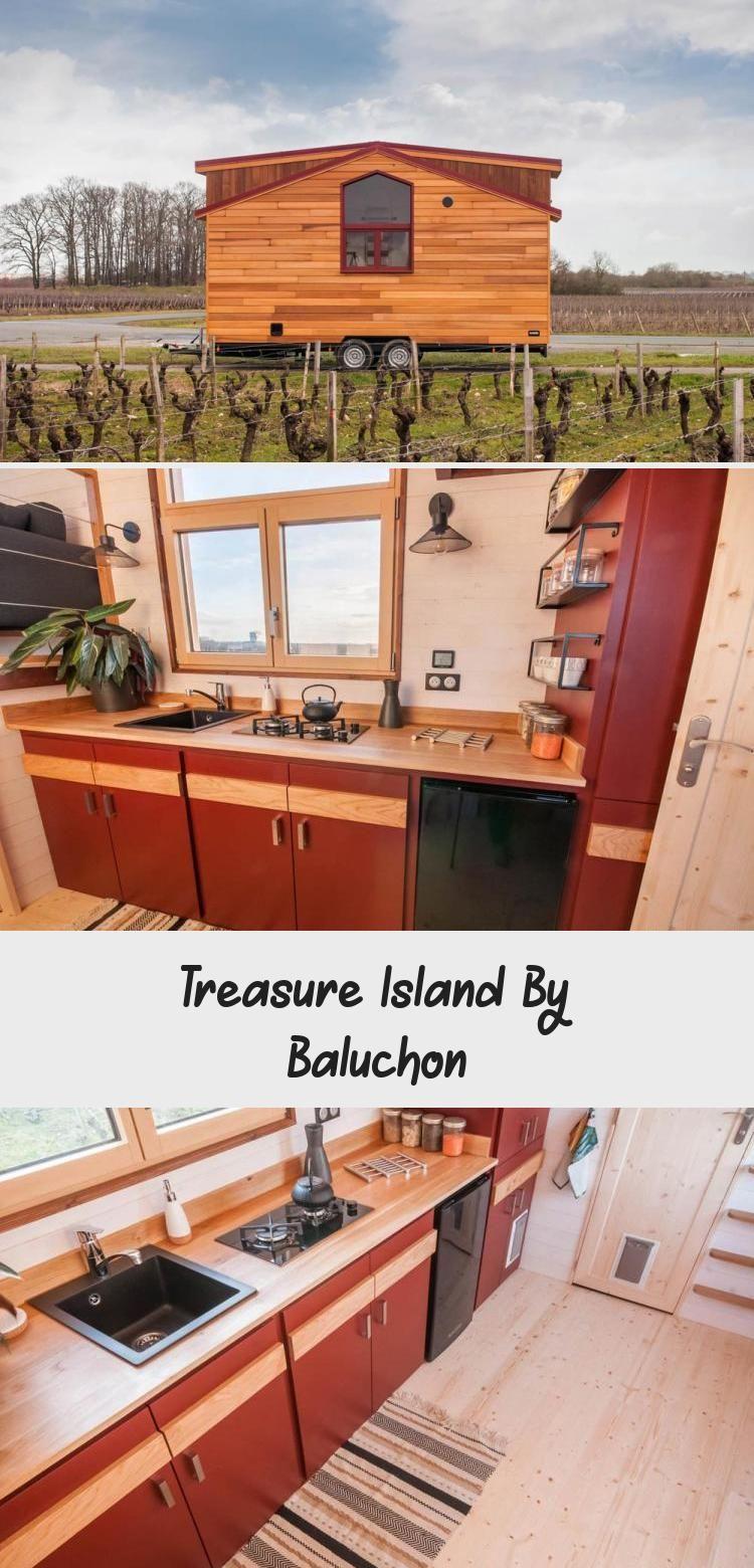 Oak Kitchen Counter Treasure Island by Baluchon