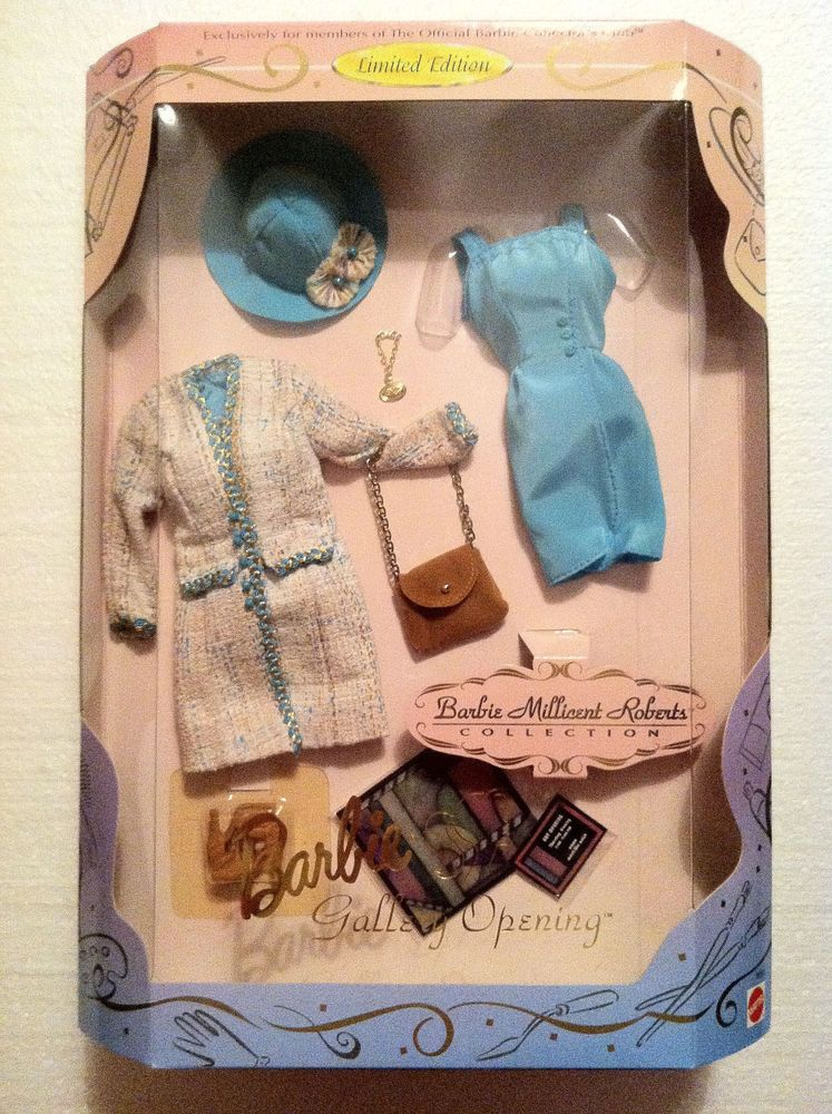 Barbie Millicent Roberts - GALLERY OPENING -1997 Outfit - Collectors Club- NRFB