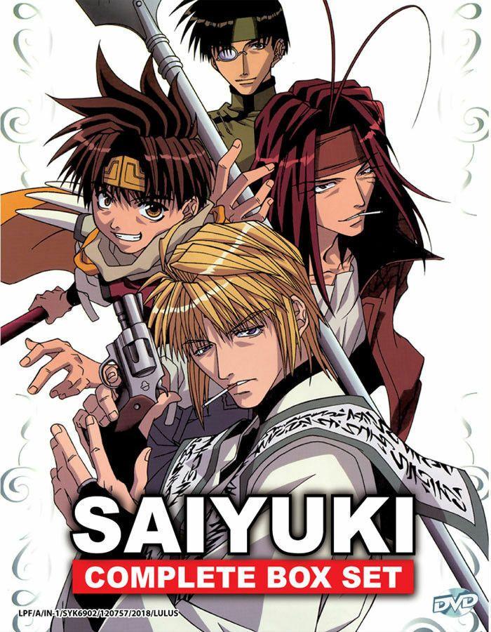 Saiyuki Complete Box Set Anime DVD (Season 1 4) with