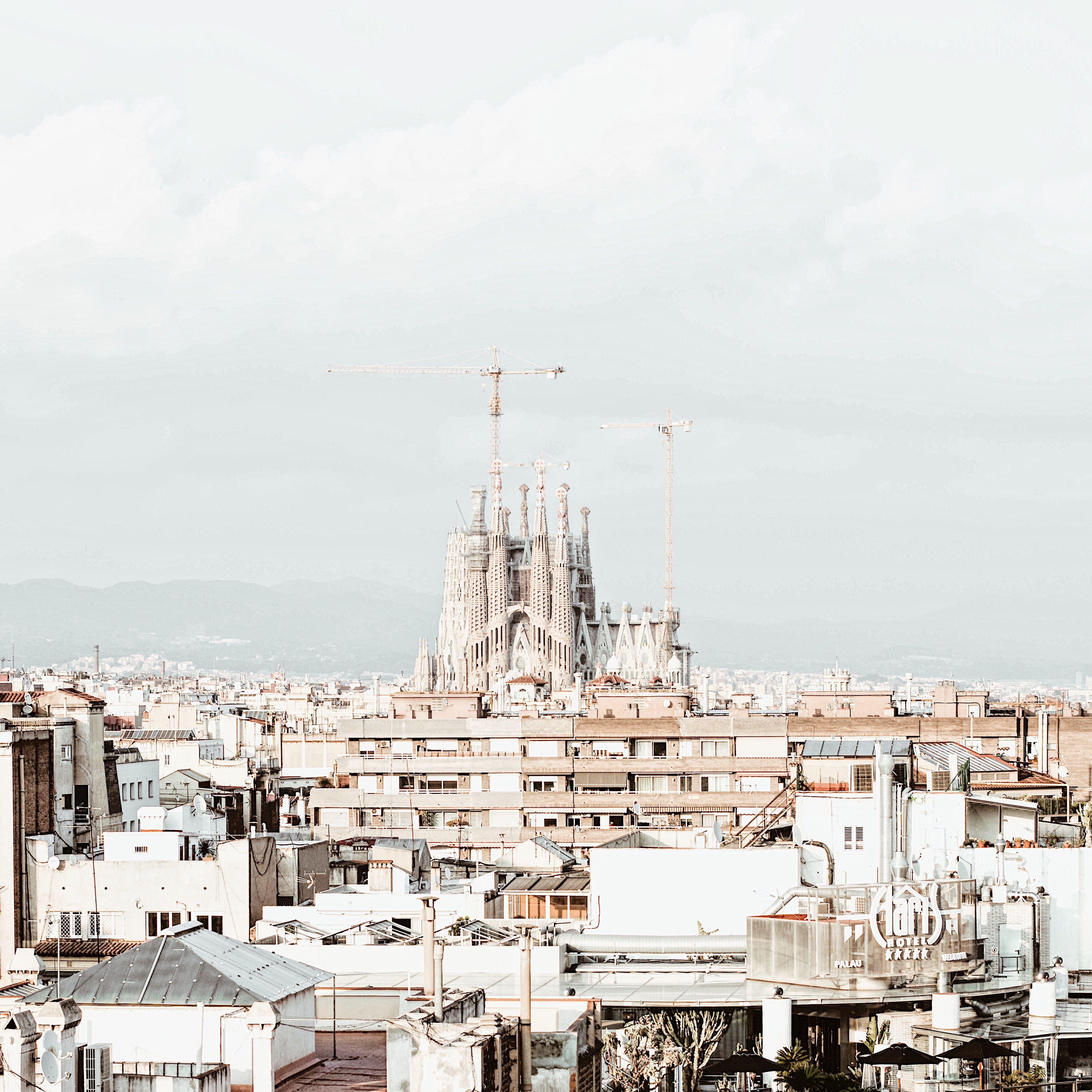 Un Café Con Vistas De Barcelona P L A C E S Vistas