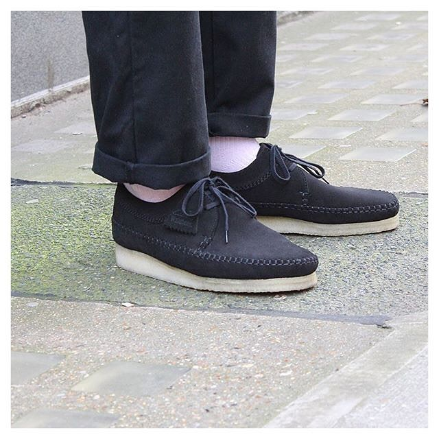 6e2967a60 The  clarksoriginals Weavers in Black are now 72 in our mid-season Sale   SS17  eightyeightstore