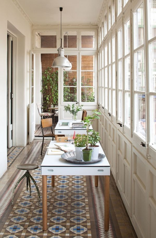 7 Stunning Home Extension Ideas: Home Office Decor, Home, Sunroom Office