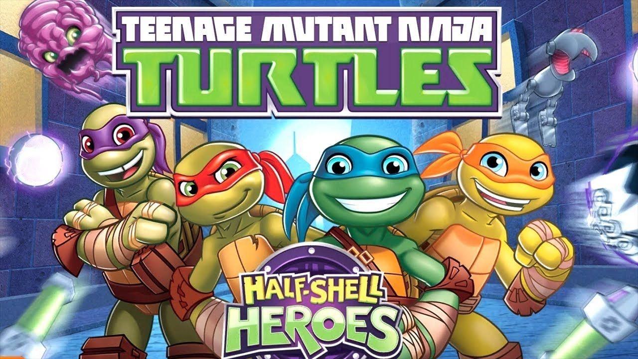 Teenage Mutant Ninja Turtles TMNT: Half-Shell Heroes Nickelodeon Jr ...