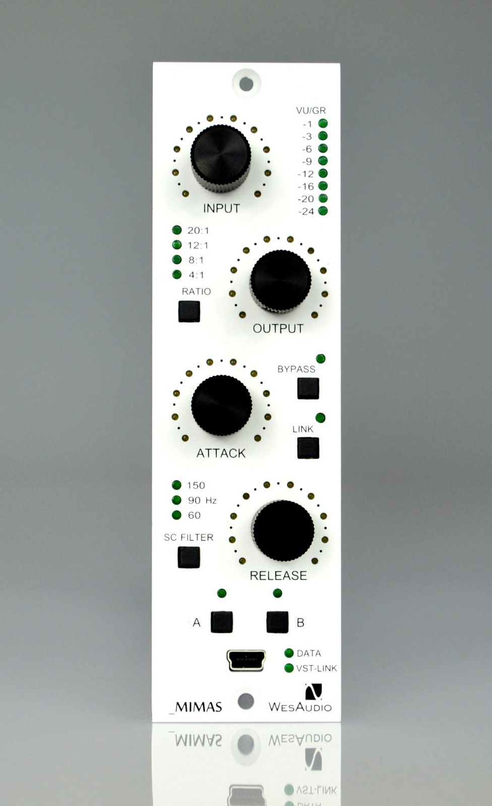 Mimas 1176 Compressor total recall via plugin (USB)   Studio