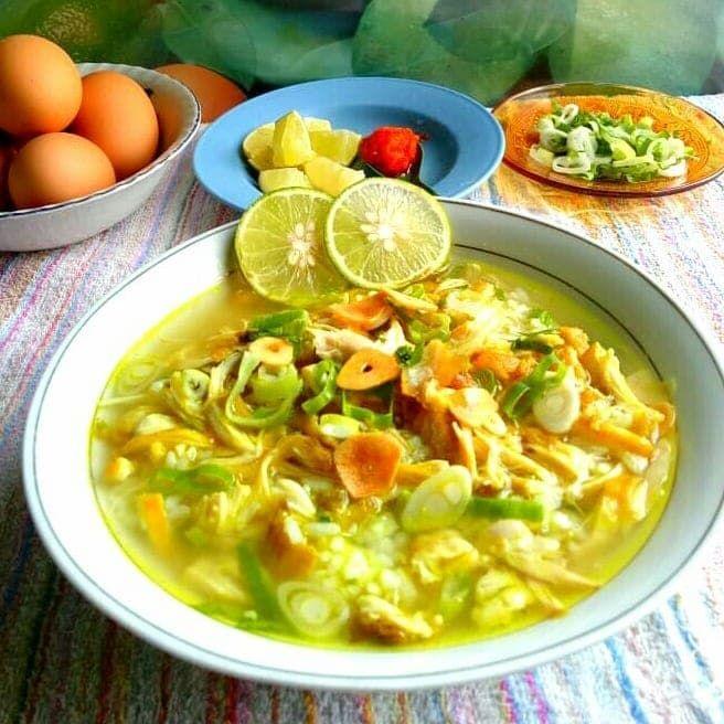 Resep Soto Ayam Kudus Resep Masakan Resep Resep Makanan Sehat