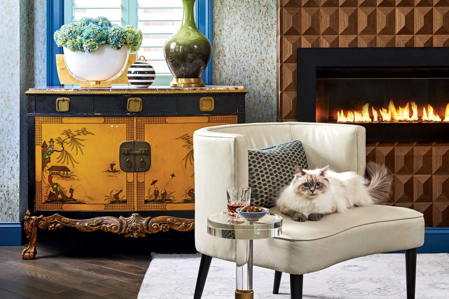 These Five Incredible Fireplaces Will Make You Want To Cozy Up By