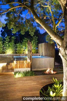 Landscape Design, Above Ground Pool, Timber Deck